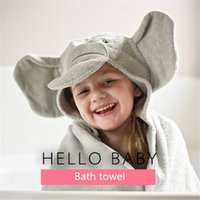 bath linen - Boutique children s bath towel elephant fish Towels Robes cotton towel bath linen Robes European and American