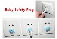 Wholesale 6pcs Power Socket Mains Outlet Plug Protective Cover For Baby Child Safety Electrical Security Lock Protector