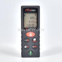 Wholesale Professional Laser Rangefinder m distance meter Bubble level Tape measure Area volume M Ft in tool SW D60 Range finder