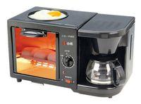Wholesale 2016 hot in in oven American drip coffee machine multifunction breakfast machine triple