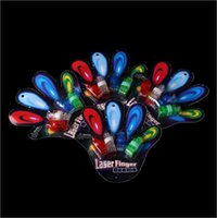 Wholesale LED toys LED Finger Lights Glowing Dazzle Colour Laser Emitting Lamps Christmas Wedding Celebration Festival Party decor