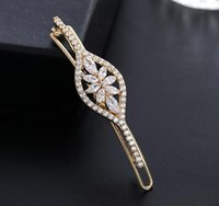 asian hair products - Korean luxury zircon hairpin retro palace wind socialite lady must have products such as gold and platinum plating color retention