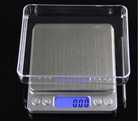 al por mayor joyería de peso balanza digital-200g 500g / 0.01g, 3000g / 0.1g Escala de bolsillo digital de la joyería Peso Escala de balanza electrónica g / oz / ct / gn Precisión