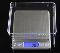 Wholesale g x g Digital Pocket Scale Jewelry Weight Electronic Balance Scale With pallets g oz ct gn Precision