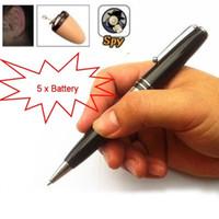 Wholesale Bluetooth Pen Spy Earpiece Hidden Wireless Invisible Mini Covert Cheat Exam