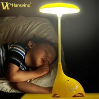 baby reading table - Creative Touch Switch LED Night Light Energy Saving Reading Light Led Rechargeable Table Desk Lamp for Baby Bedroom bedside Lamp