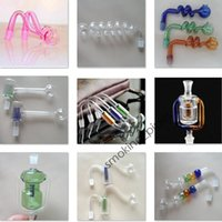 Wholesale 106 styles Smoking Accessories Smoking Pipes glass water pipes oil RIGS Glass Pipe Fittings Cooking pot for Smoking pipes