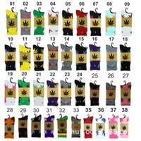 huf plantlife socks - Hot Crew high Socks Skateboard hiphop socks Leaf Maple Leaves Stockings Cotton Unisex Plantlife Socks Europe HUF cannabina thread Gaotong so