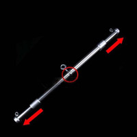 adult max - Multi Purpose Stainless Steel Spreader Bar Restraint System With Adjustable Max Length cm Adult Bondage Gear Sex Position Toy