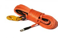 atv winch hook - MM x M Orange Synthetic Winch Line Cable Rope with Sheath and Hook ATV UTV x OFF ROAD