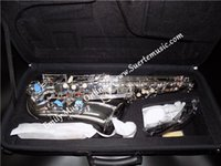 Wholesale Eb Alto Saxophone Silver plated Brass Body Chinese Pads with ABS case Shipping time days
