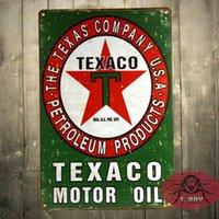 Wholesale Texaco Gas quot x quot Vintage Style Metal Gasoline Motor Oil Petroleum Man Cave