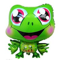 baby shower frogs - lassic Toys Balloons Inch Smiling Frog Inflatable Balloon Baby Shower Foil Balloon Party Birthday Wedding