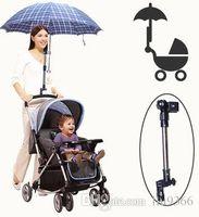 Wholesale Sun shading baby stroller umbrella mount sun umbrella stand accessories for strollers carriage pram carrinho cart pushchair car