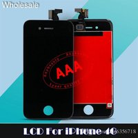 apple original parts - For iPhone G S Original LCD Display Screen Touch Digitizer with Frame Full Assembly Replacement parts iphone lcd free DHL