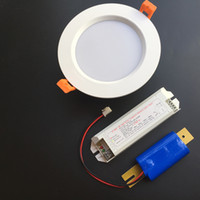Wholesale New arrival Lighting Transformers D LM LM W LED emergency light W h LED lamp driver lithium battery emergency power supply