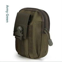 Wholesale Tactical Molle Pouch Belt Waist Pack Bag Pocket Military Waist Fanny Pack Phone Cases Pocket for Phone