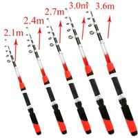 Wholesale Sea Fishing Telescopic Fish Rod Travelling Fishing Rod Fishing Spinning M