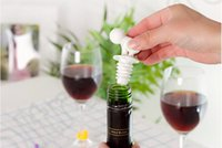 Wholesale 1000PCS MMA28 Cartoon Creative Silicone Wine Bottle Stopper With Glass Cup Marker For Recognition Cup Champagne Bottle Stopper