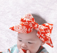 Wholesale Pretty bows baby hair band fashion new child Damas hair ornaments month cheapest hair band in stock HI