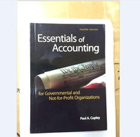 Wholesale New Book Essentials of Accounting for Governmental and Not for Profit Organizations Twelfth Edition by Paul A Copley