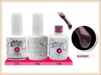Wholesale 2016 Hottest Item Gelish Nail Polish Soak Off Nail Gel For Salon UV Gel Colors ml supply