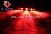Wholesale ZJMOTO Red Light LED Motorcycle Mini Rear Brake STOP Mini Lights For Yamaha MT MT Tmax