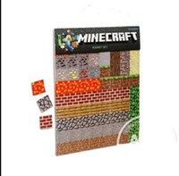 Wholesale AAAA new minecraft stickers fridge sticker refrigerator fridge magnets for kids home decoration accessories minecraft poster i