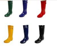best wellies - Top Quality Rainboots Women Wellies Rainboots Wellies Boots Women Boots Best Selling Ms glossy Hunter Wellington Rain Boots
