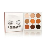 Wholesale Stocking best price Kylie Cosmetics Bronze Kylie Eyeshadow Palette KyShadow Palette color DHL