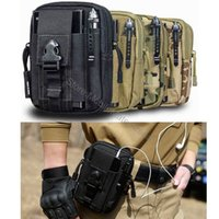belt accessory pouch - For Samsung Galaxy A5 A3 S7 S6 Edge J5 J2 J3 J7 Iphone s Case Bag Accessory Phone Case Cover Army Camo Waist Belt Pouch