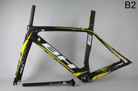 bh - factory price BH G6 B2 yellow carbon frame Full carbon road bicycle frame cycling bike racing bike frame road bike UD matte glossy