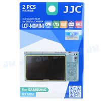 Wholesale JJC Anti smudge Anti reflecting Anti scratch High transmission LCD Guard Film Screen Protector for Samsung NX MINI Camera