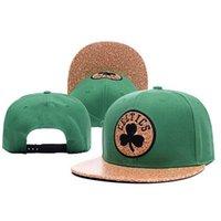 Wholesale Top Quality Boston Celtics Snapback Cheap Adjustable Cotton Baseball Caps for Women Mens Football Sports Hats A044