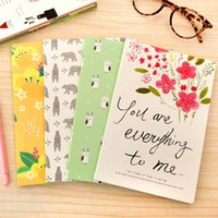 Wholesale High Quality Lovely Notebooks For Writting Daily Memos Notebook Office School Supplies Papelaria