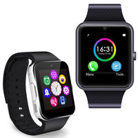 Wholesale NFC Bluetooth Smart wrist Watch GT08 anti lost Pedometer For Samsung HTC LG Android IOS Smart phones