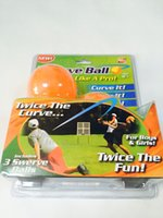 agent orange - Swerve Ball Sport Outdoor Play Toys The Amazing Ball That Lets Anyone Throw Like a Pro Children Toy yl