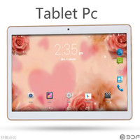 Wholesale HOT NEW INCH Tablet Android GB GB Bit Processors Dual SIM Card G G G With Flash Million Pixels