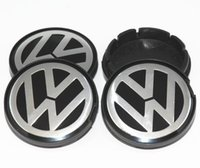 Wholesale CC06 mm VW wheel center cap hub cap Logo badge emblems EO S Gol f Jett a Mk5 Passa t B6 VW B7
