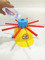 Wholesale Wet Head Game children and adult Amusement Toys Wet Head Challenge Jokes Funny Toys roulette game Tricky cap New Table Game