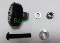 Wholesale SKU High tolerance CNC solid v wheel kit for v slot Delrin precise linear guide set POM V slot Wheel