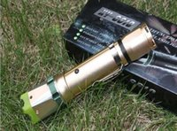 Wholesale 6610 SELF DEFENSE SET MINI FLASHLIGHT TORCH pocket lamp