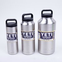 Wholesale 18oz oz oz High Capacity YETI Cups Double Layer Stainless Steel Vacuum Cup Travel Mugs Cold Insulation Beer Cup Car Cup