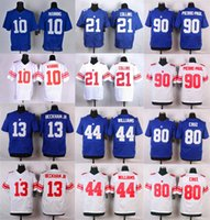 andre blue - Mens Elite Jerseys Odell Beckham Jr Eli Manning Landon Collins Andre Williams Victor Cruz Jason Pierre Paul