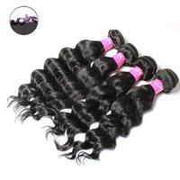 big lots deals - 7A Grade Brazilian Virgin Hair Natural Wave Brazilian Human Hair Bundles Deals Big Wave B Cheap Hair Extensions Double Sewing
