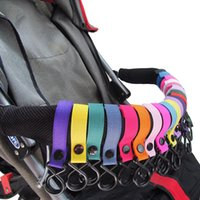 Wholesale 20 colors Baby stroller hook clips general strong Hooks Strap hanger baby stroller accessories hook hanger baby carriage