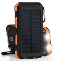 Wholesale Dual USB Solar Battery Chargers High Capacity mAh Portable Solar Energy Panel Charger Power Bank