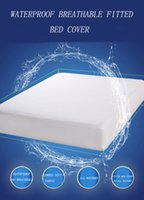 Wholesale waterproof fitted bed cover pure cotton bed purecotton bedspread