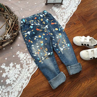 color jeans - Korean Boy Jeans Tapered Jeans Child Clothes Kids Clothing Blue Jeans Spring Denim Trouser Boys Pants Children Jeans Lovekiss C23325
