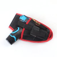 Wholesale Hand Tool Bag Portable Cordless Drill Holder Holst Tool Pouch For V Drill Cordless Screwdriver Waist Tool Bag Power Tool Bag